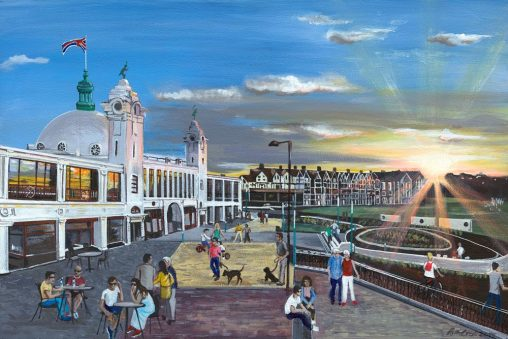 whitley bay spanish city